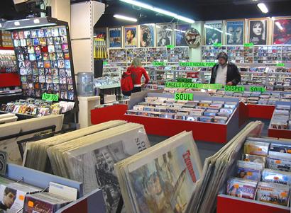 67e2dacb53d6cb Foto's winkel South Miami Plaza CD DVD muziekwinkel, Amsterdam Zuid ...